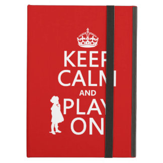 Keep Calm and Play On Cover For iPad Air