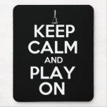 Keep Calm and Play On Handbells Mouse Pad