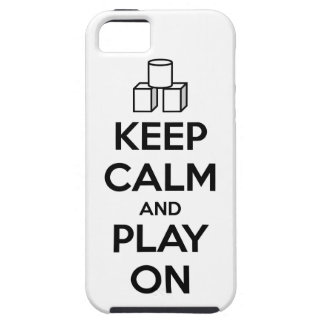 Keep Calm And Play On iPhone SE/5/5s Case