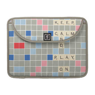 Keep Calm And Play On MacBook Pro Sleeve