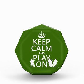 Keep Calm and Play On (stringed instruments) Award