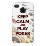 keep calm and play poker cases for iPhone 4