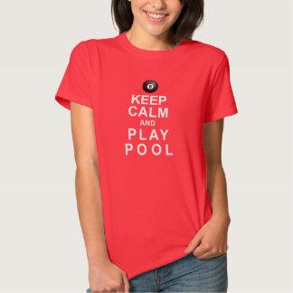 Keep Calm and Play Pool Shirt