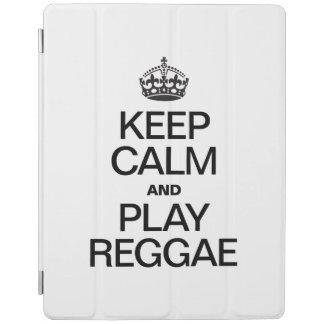 KEEP CALM AND PLAY REGGAE iPad COVER