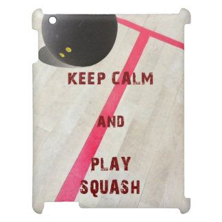 Keep Calm and Play Squash Case For The iPad 2 3 4