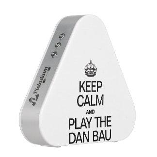 KEEP CALM AND PLAY THE DAN BAU BLUETOOTH SPEAKER