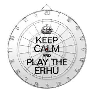 KEEP CALM AND PLAY THE ERHU DART BOARDS