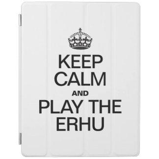 KEEP CALM AND PLAY THE ERHU iPad COVER