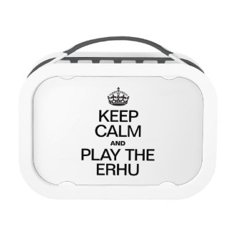 KEEP CALM AND PLAY THE ERHU REPLACEMENT PLATE