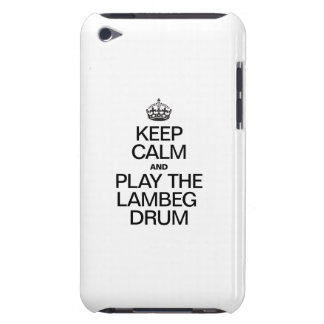 KEEP CALM AND PLAY THE LAMBEG DRUM iPod Case-Mate CASES
