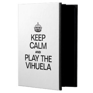 KEEP CALM AND PLAY THE VIHUELA COVER FOR iPad AIR