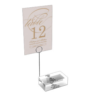 KEEP CALM AND PLAY THE VIOLA D'AMORE TABLE CARD HOLDERS