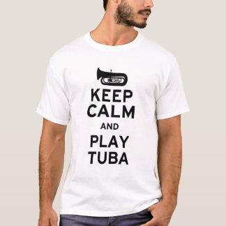 Keep Calm and Play Tuba T-Shirt