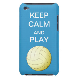 Keep Calm and Play Volleybal Form Factor iPod Case