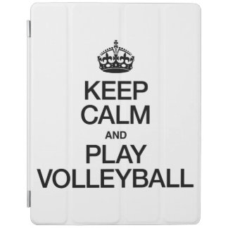 KEEP CALM AND PLAY VOLLEYBALL iPad COVER