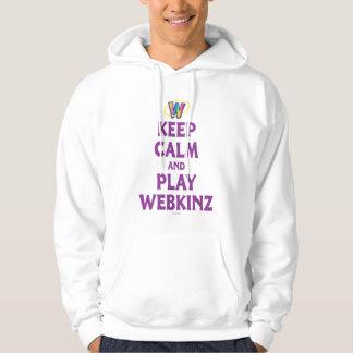 Keep Calm And Play Webkinz Hoodie