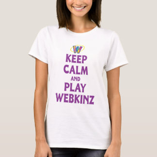Keep Calm And Play Webkinz T-Shirt
