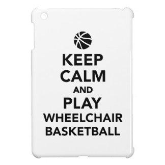 Keep calm and play wheelchair basketball iPad mini covers