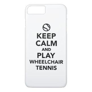 Keep calm and play wheelchair tennis iPhone 7 plus case