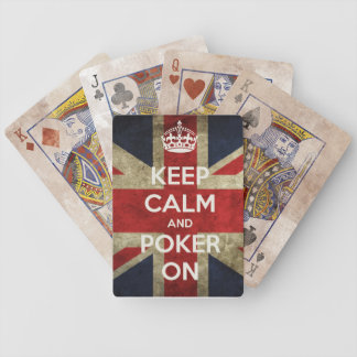 Keep Calm and Poker On Poker Deck