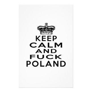 KEEP CALM AND POLAND STATIONERY