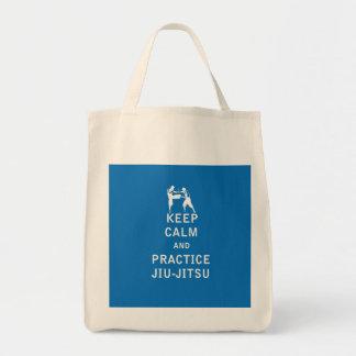 Keep Calm and Practice Jiu-Jitsu Tote Bag