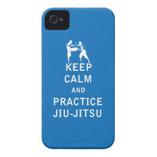 Keep Calm and Practice Jiu-Jitsu iPhone 4 Case