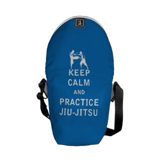 Keep Calm and Practice Jiu-Jitsu Messenger Bag