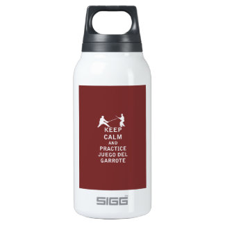 Keep Calm and Practice Juego del Garrote Thermos Bottle