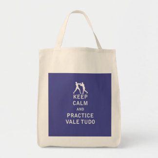 Keep Calm and Practice Vale Tudo Bags