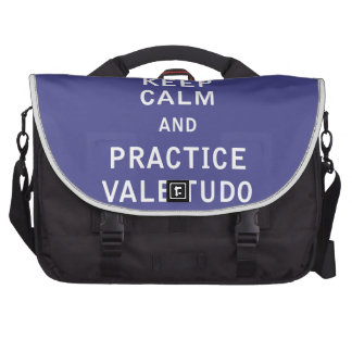 Keep Calm and Practice Vale Tudo Commuter Bag