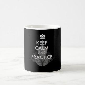 Keep Calm and Practice Violin Coffee Mug