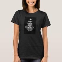 Keep Calm and Practice Violin T-Shirt-Women's T-Shirt
