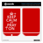 Keep Calm and Pray On - all colors available FreeAgent GoFlex Decal