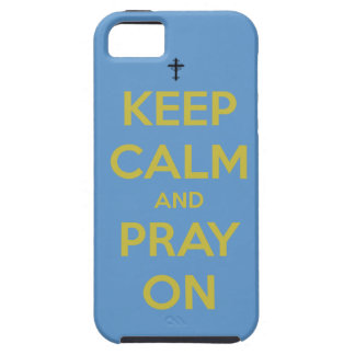 Keep Calm and Pray On iphone 5 case