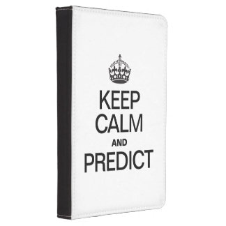 KEEP CALM AND PREDICT KINDLE 4 COVER