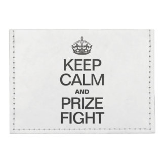 KEEP CALM AND PRIZE FIGHT TYVEK® CARD WALLET