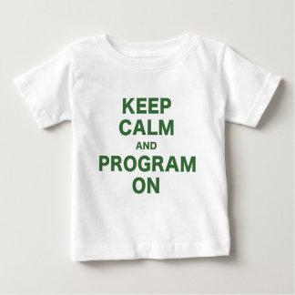 Keep Calm and Program On Tshirt