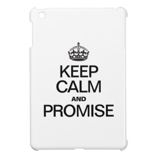 KEEP CALM AND PROMISE CASE FOR THE iPad MINI
