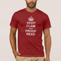 Keep Calm and Proofread Tee