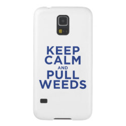 Case-Mate Barely There Samsung Galaxy S5 Case with Keep Calm and Pull Weeds design