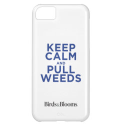 Case-Mate Barely There iPhone 5C Case with Keep Calm and Pull Weeds design