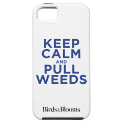Case-Mate Vibe iPhone 5 Case with Keep Calm and Pull Weeds design