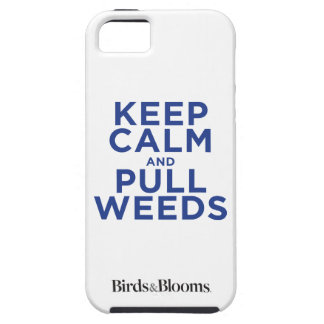 Keep Calm and Pull Weeds iPhone SE/5/5s Case