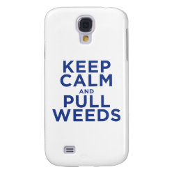 Case-Mate Barely There Samsung Galaxy S4 Case with Keep Calm and Pull Weeds design