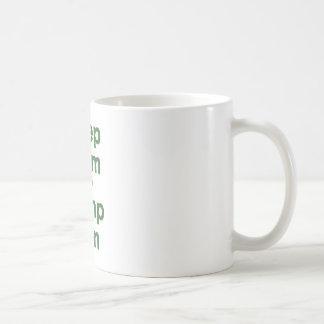 Keep Calm and Pump Iron Coffee Mugs
