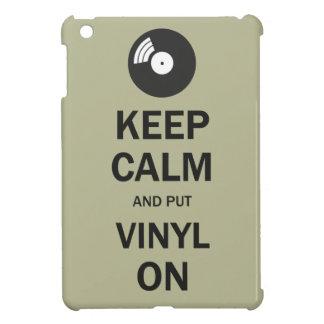Keep Calm and Put Vinyl On iPad Mini Cases