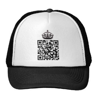 KEEP CALM and QR'y ON - Hat