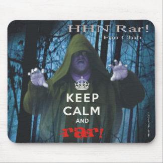 Keep Calm and Rar! Mousepad
