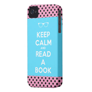 Keep Calm and Read a Book Case-Mate iPhone 4 Cases
